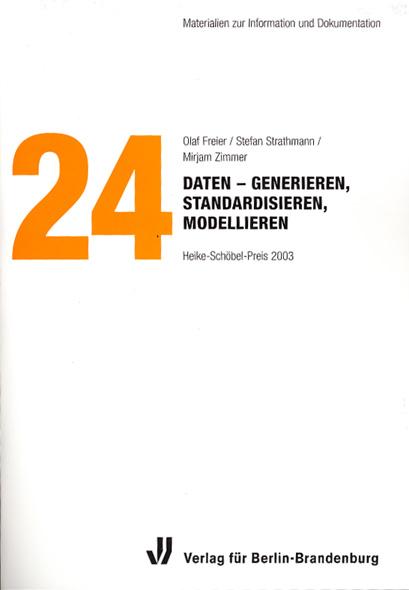 Materialien zur Information und Dokumentation, Band 24